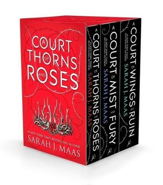 By A cour of thorns and roses box