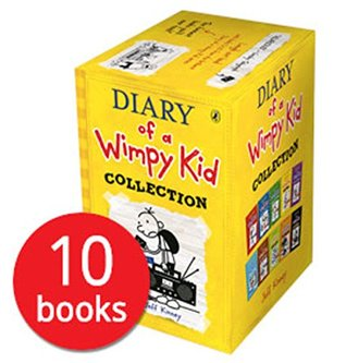 diary of a wimpy kid box set collection
