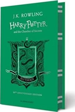 Harry Potter and the Chamber of secrets 20th anniversary slytherin edition hardcover