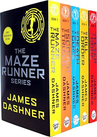 Maze Runner Books Set